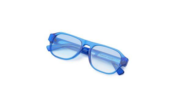 Transparent Blue/Smokey Blue
