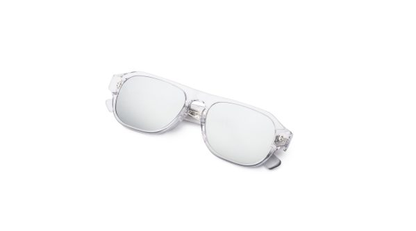 Transparent/Silver Mirror
