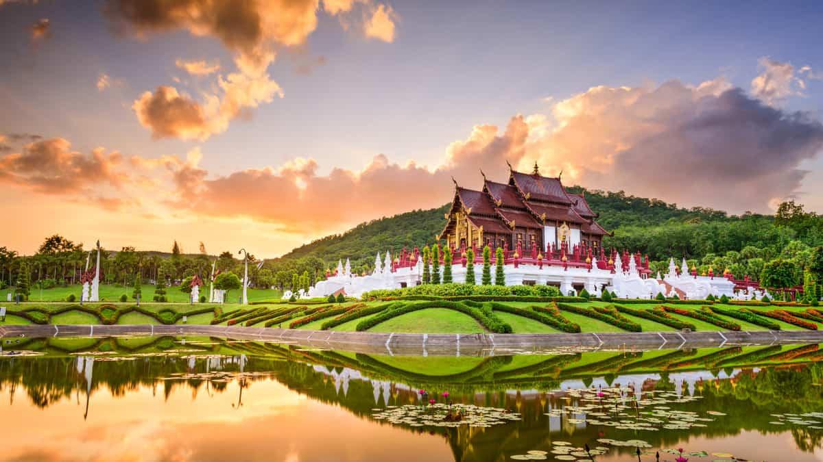 Een randreis Thailand