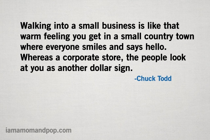 Importance of Small Business | I am a Mom and Pop | Kopf Consulting