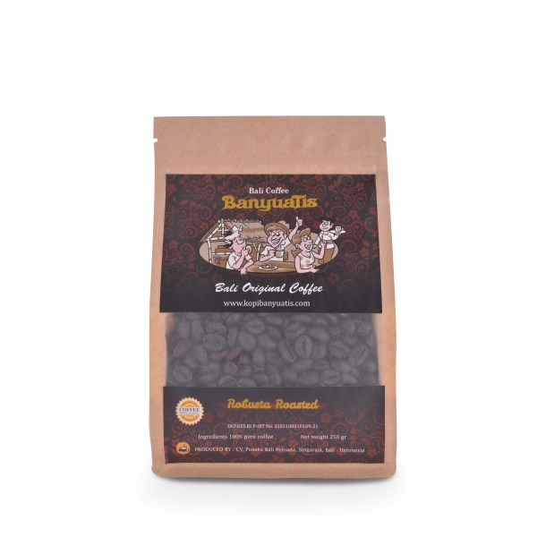 Traditional Robusta Roasted 250 gr