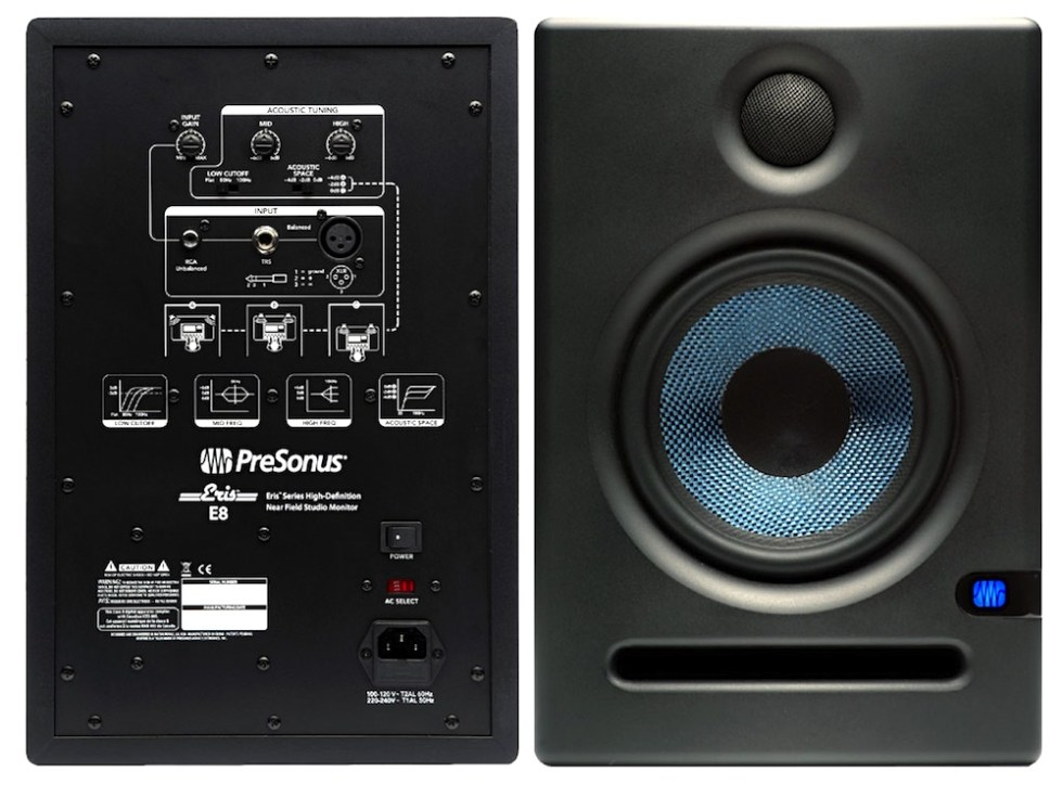 Presonus E8 speakers Image