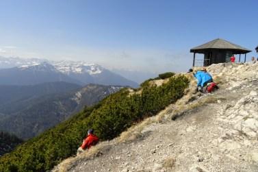 Gipfelpavillon auf dem Herzogstand