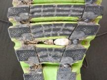 Ärgerlich: Steinchen verkeilen sich ständig in der ZIGTECH-Sohle
