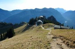 Das August-Schuster-Haus und Naturfreundhaus am Pürschling