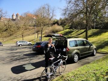 Ausgangspunkt in Harburg