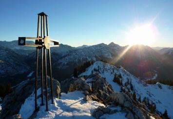 Gipfelkreuz des Teufelstättkopfs