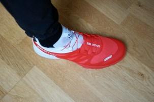 Passform auch für breitere Füße geeignet