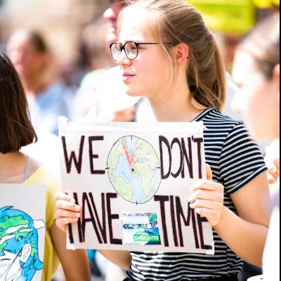 Kora Sustainability Blog - what is still holding us back from living a sustinable life? - climate protests