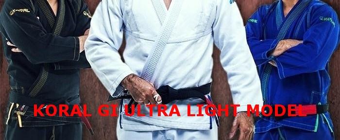 KORAL柔術衣 Ultra Light Model入荷!