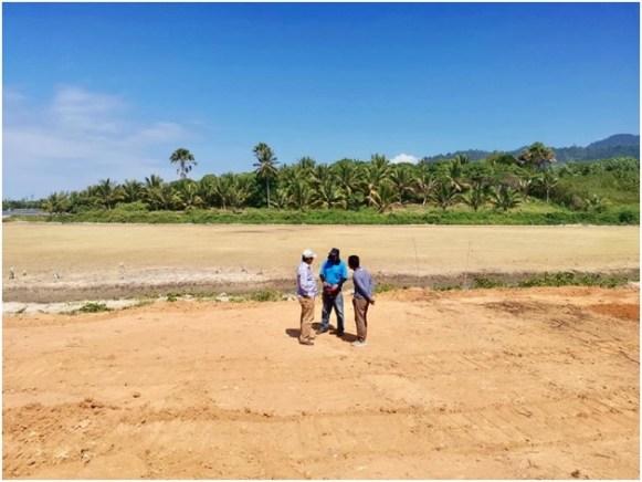 250公顷新开发养殖场。