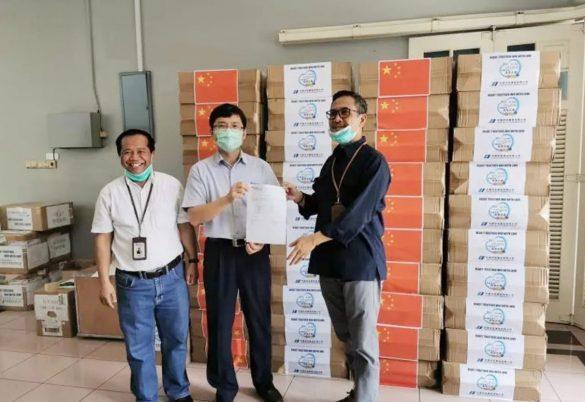 中国华电(印尼)玻雅发电公司向当地捐赠物资