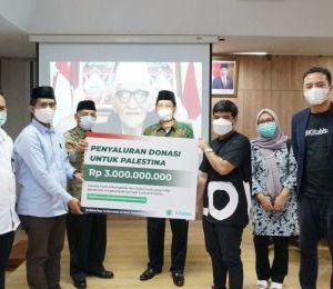 Kitabisa.com Salurkan Donasi Rp4 Miliar untuk Bangun RS di Palestina