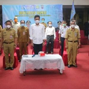 Deklarasi Damai untuk Pilkades Serentak di Kabupaten Banjar