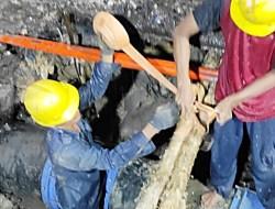 PDAM Tanbu; Pembangunan Pipanisasi Gunung Tinggi Telah Rampung