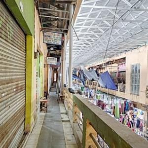 Pasar Batuah Martapura Tak Terurus, Pedagang Trauma Kebakaran