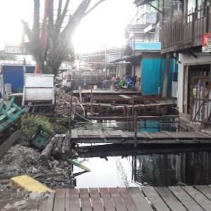 Program Unggulan Normalisasi Sungai Kertak Hanyar Terus Berlanjut