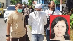 Pelaku pembunuhan sadis, Harry Purwanti saat ditangkap pihak Polresta Banjarmasin, Rabu (2/6/2021). Korban, Rahmah saat masih hidup. (foto: ist)