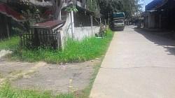 Kawasan Terminal Angkutan Umum Desa di Jl Samadi Tunggul Irang, Kecamatan Martapura, Kabupaten Banjar, Kalimnantan Selatan, yang teramat sep, sehingga terminal hampir punah. (foto: koranbanjar.net)