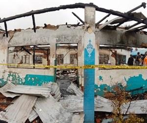 Kamar Tidur Untuk 200 Santri Ponpes Al Falah Turut Hangus, Api Disebabkan Arus Pendek