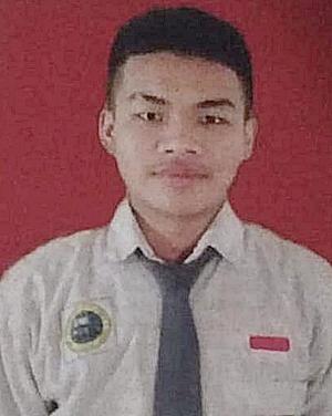 Korban Siswa SMKN 1 Kertak Hanyar, M Syamsuni. (foto: yanda)