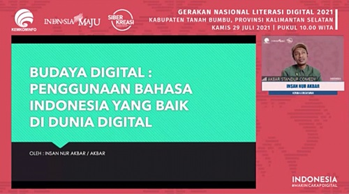 Literasi Digital Kabupaten Tanah Bumbu.