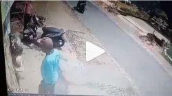 Viral Pria Nyolong Tabung Gas LPG di Malang Terekam CCTV, Warganet: Efek PPKM. [Foto: tangkapan layar Instagram/@ngalamlop]