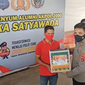 Bantu Masyarakat Terdampak Covid-19, Alumni Akpol Bagikan Ribuan Sembako