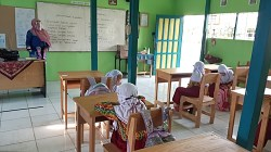 Pembelajaran Tatap Muka di Kabupaten Batola. (foto: faqih)