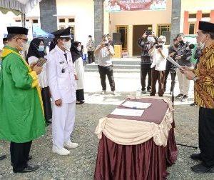 Bupati Zairullah Lantik Empat Pejabat Sementara Kepala Desa