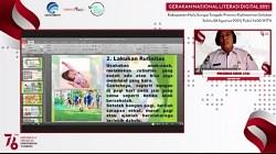 Webinar Literasi Digital Kabupaten HST.