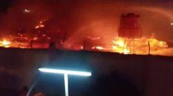 Cuma Dijaga 12 Sipir, Napi Lapas Tangerang Terjebak Kebakaran karena Terkunci dari Dalam. Lapas Tangerang Kebakaran (BPBD)
