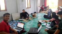 Sekretariat HMI di Barabai, Kabupaten HST, Kalimantan Selatan. (foto: ramli)