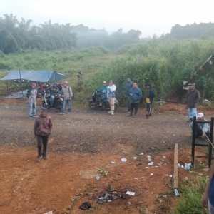 Kecewa Terhadap PT BSS, Truk CPO Dilarang Melintas di Jalan Inhutani