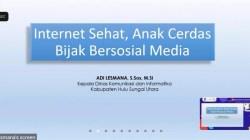 Webinar Literasi Digital Hulu Sungai Utara