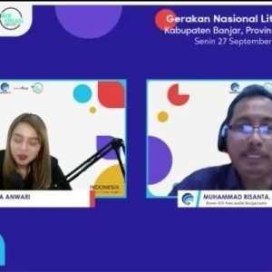 Webinar Literasi Digital Kabupaten Banjar; Dampak Positif Bermedia Sosial