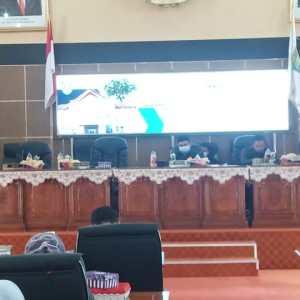DPRD Balangan Gelar Paripurna Tentang Raperda APBD Tahun 2022