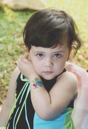 Potret Manuella Aziza anak Sophia Latjuba. (Instagram/sophia_latjuba88)