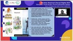 Webinar Literasi Digital Tanah Bumbu.