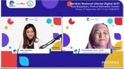 Webinar Literasi Digital Banjarbaru.