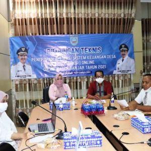 Aplikasi Sistem Keuangan Desa Bakal Diberlakukan Kabupaten Banjar