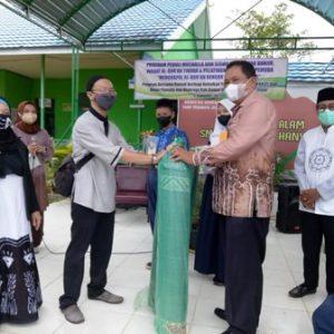 Program Peduli Musala dan Terdampak Banjir di SMPN 2 Kertak Hanyar