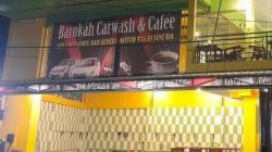 Barokah Cafe and Carwash hadir di Kota Banjarmasin. (foto: leon)