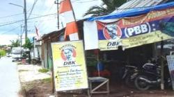 Warung DBK di Kawasan Ekowisata Mantuil,Banjarmasin.(foto: leon)