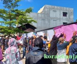 Kecurigaan Pendemo di Kotabaru Terbukti, PT SDO Buang Limbah ke Laut