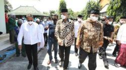 Gubernur Jateng, Ganjar Pranowo dan Menko Perekonomian, Airlangga Hartarto. [Dok: Pemprov Jateng]