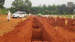 ILUSTRASi - Pemakaman COVID.