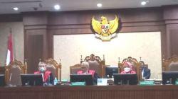 Tangkapan layar--Sidang gugatan polusi udara dengan agenda pembacaan putusan di Pengadilan Negeri Jakarta Pusat, Kamis (16/9/2021).(Arga)