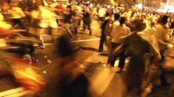 Suasana penyerangan saat terjadi di sebuah tempat nongkrong wilayah Bogor. (foto: istimewa)