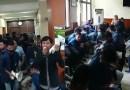 Mahasiswa Unram Geruduk Rektorat,Suarakan 12 Tuntutan